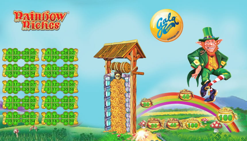 40-Ball Rainbow Riches Bingo