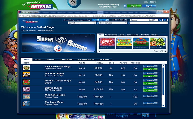 Huge Collections Of Mobile: Betfred Bingo Bonus Code And Mobile App Review