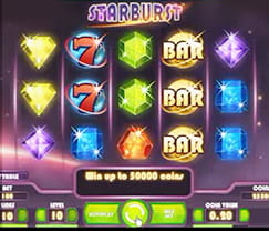 Cosmic Adventures with the Starburst Slot