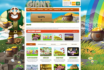 A great list of slots and other games on Giant