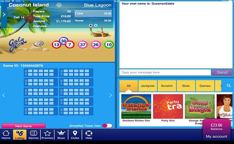 Gala Bingo Review of The Great Bonus and Mobile App
