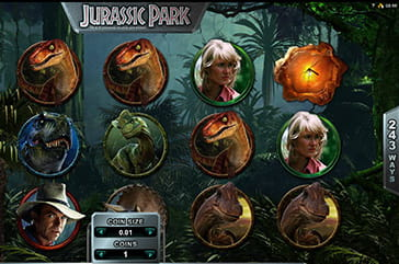 Jurassic Park, one of the famous Microgaming slots