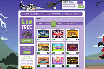 Great game variety with slots and instants on the site