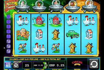 The Invaders from the Planet Moolah Slot