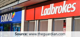 Ladbrokes and Coral merger
