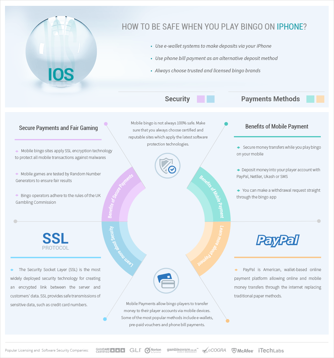 Payments and Security Infographic