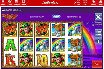 Rainbow Riches at Ladbrokes Bingo