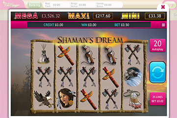 'Shaman's Dream' Bingo Slot