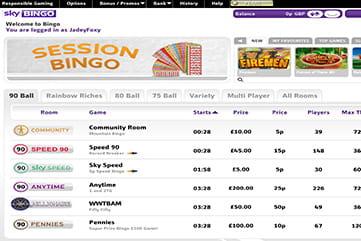 Sky Bingo Free Scratchcard