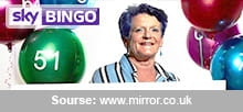 The first millionaire at Sky Bingo
