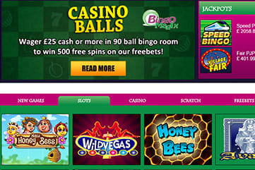 Enjoy free spins and freebets at the casino