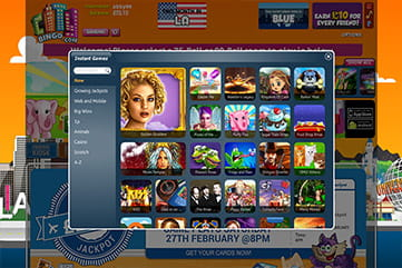 Pick from hundreds of slots and instant games