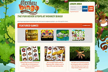 Slots, casino, scratches and other games on Monkey