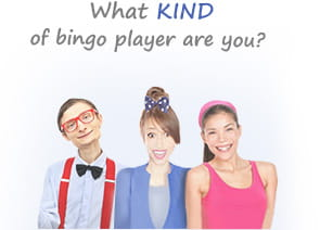 Three Bingo Personalities