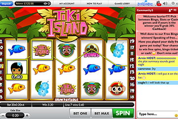 The Tiki Island Multiline Slot