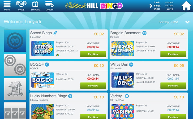 William hill bingo on your mobile download gambling games free