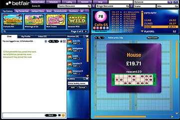 WWTBAM at Betfair Bingo Mobile